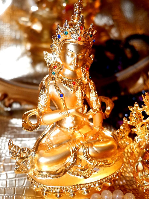 Activated  Channeled Vajrasattva Energy (in Gold) by Octavia Channeler