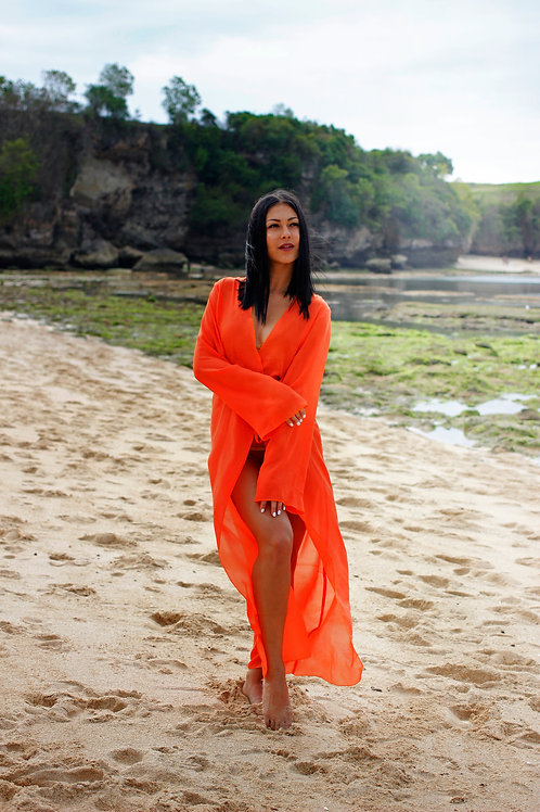 Angelic Mariposa in Sakral Orange PO ONLY