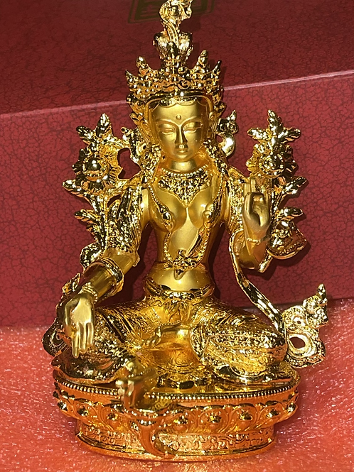 Activated Channeled Green Tara's Energy in Gold by Octavia Channeler