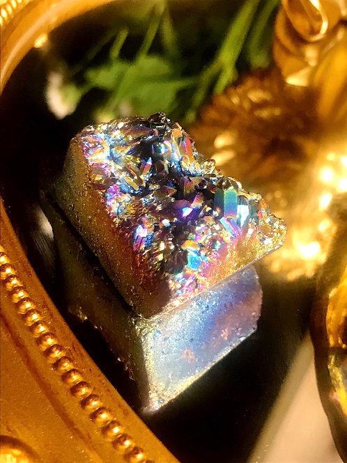 Titanium Rainbow aura quartz 48