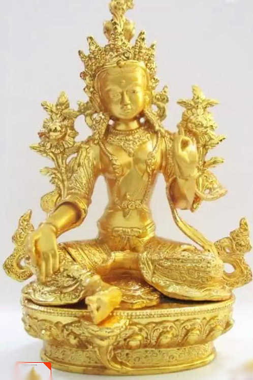 Activated Green Tara's Energy in Gold by Octavia Channeler