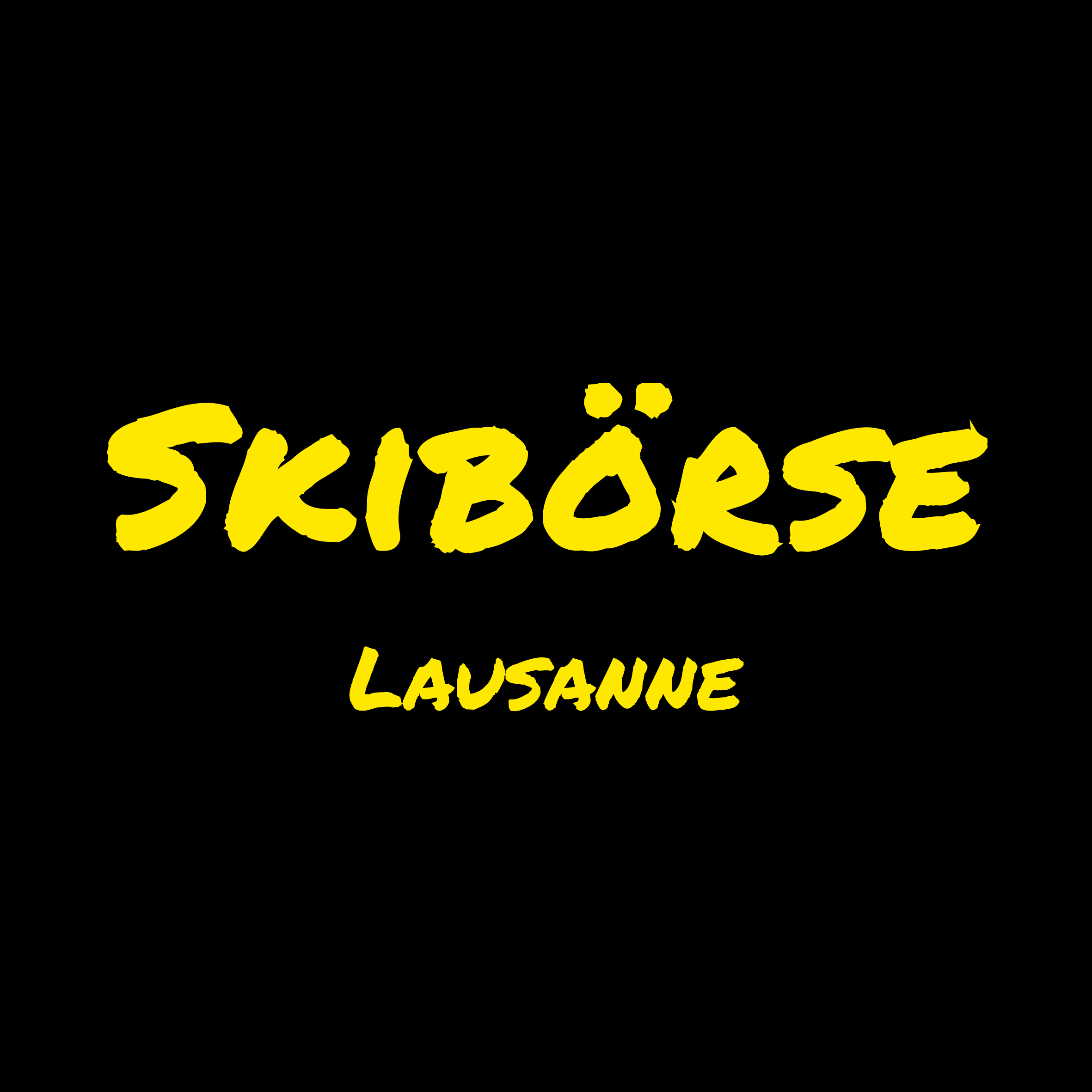Skibörse Lausanne Logo