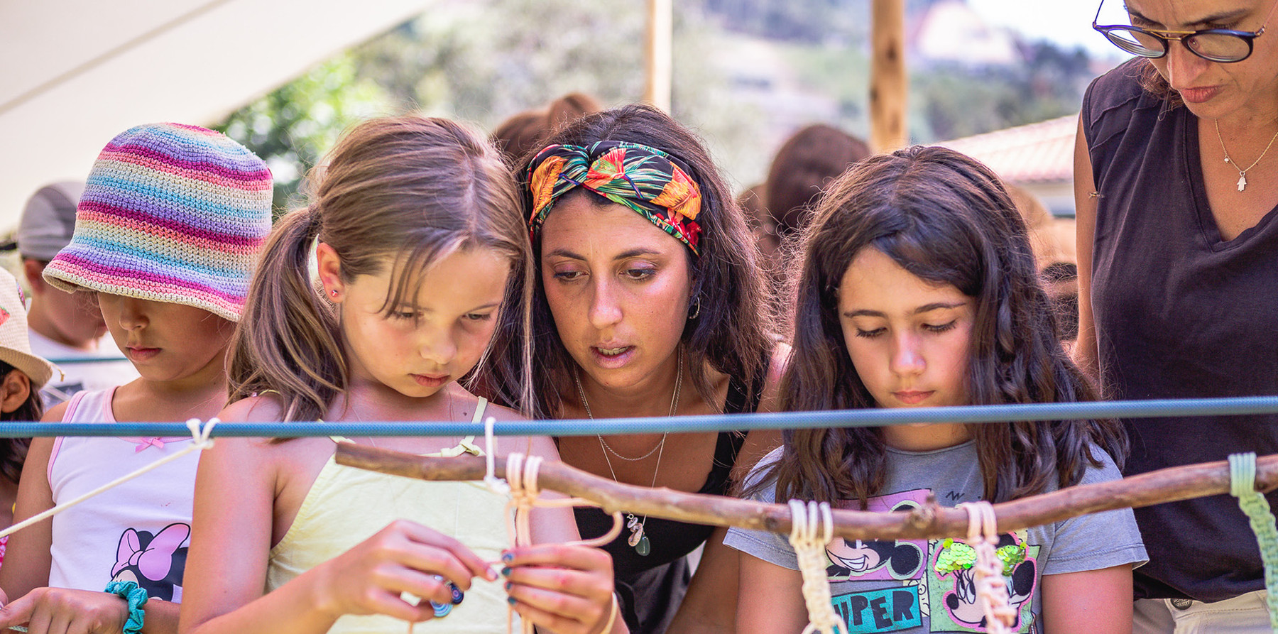 Workshop de Macramé   ZIMP Kids