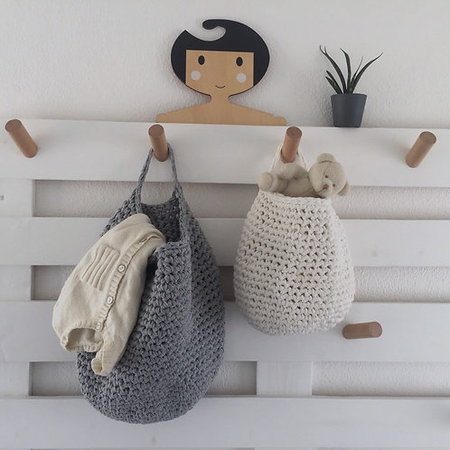Modern Wall Hanging Basket - Eco Friendly Storage