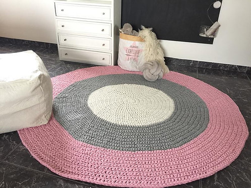 Chunky Cotton Round Carpet