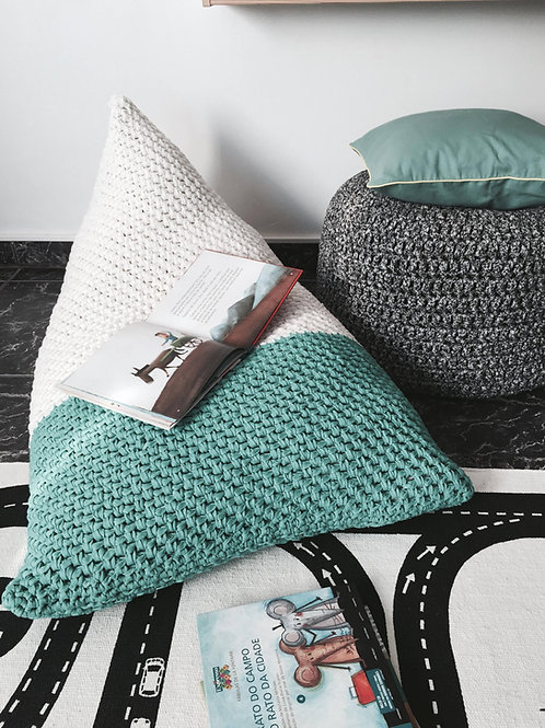 Knit Bean Bag Chair