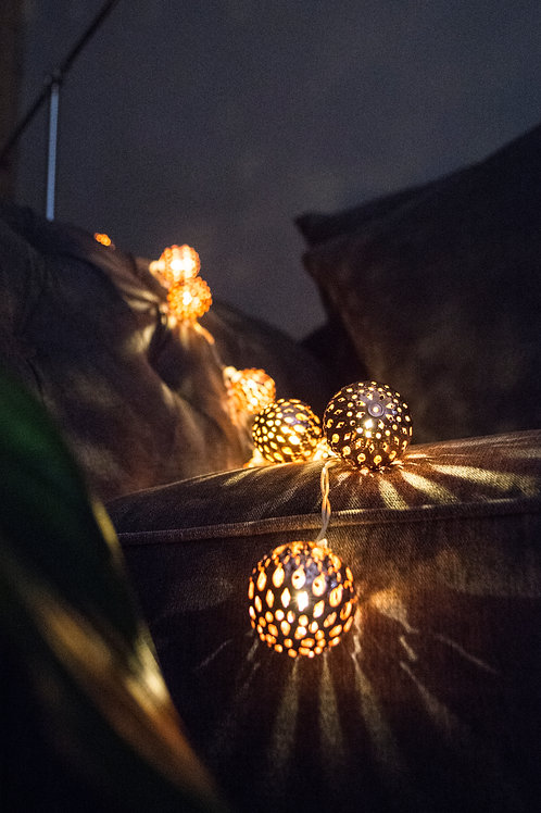 Moroccan Copper String Lights