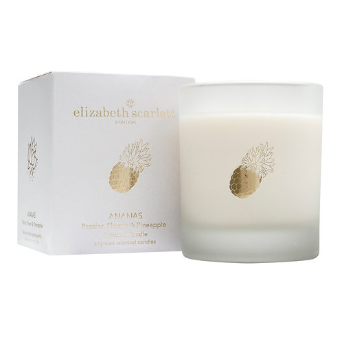 Elizabeth Scarlett Ananas Passion Flower & Pineapple Candle