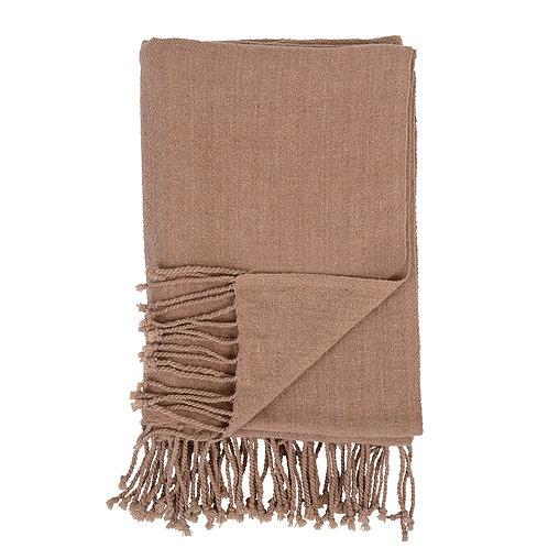 Brown Wool Throw