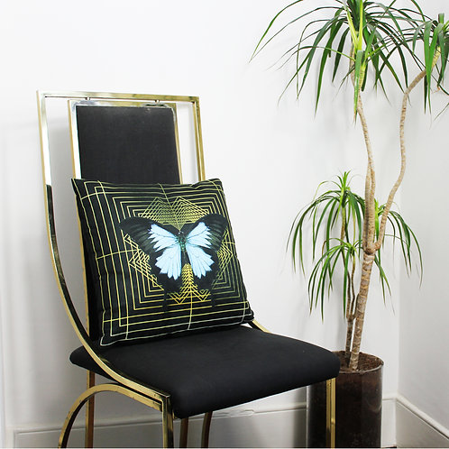 The Curious Department Butterfly Cushion