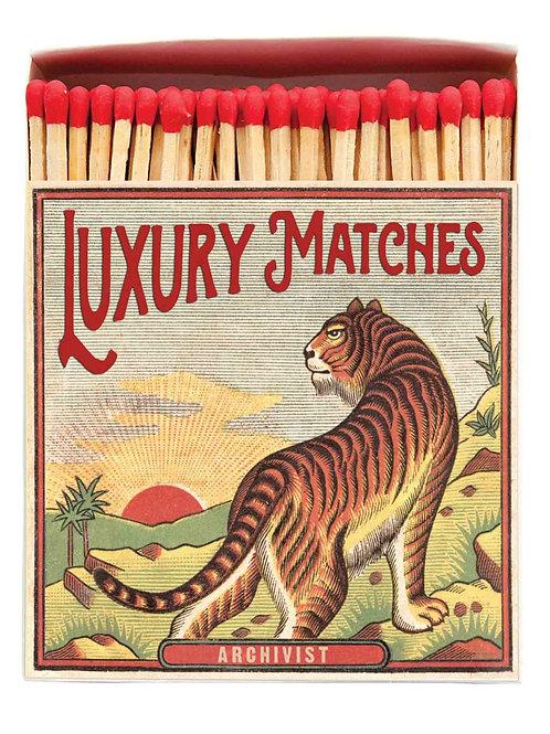 Tiger Vintage Design Matches