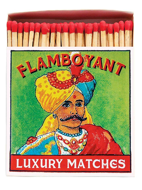 Flamboyant Vintage Design Matches