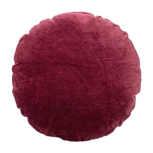 Red Round Cotton Cushion
