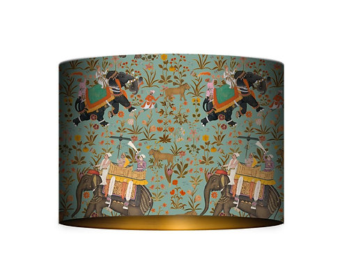 Mind The Gap Hindustan Aquamarine Lamp Shade
