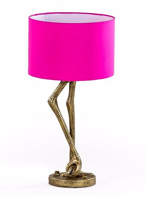 Flamingo Legs Pink Table Lamp