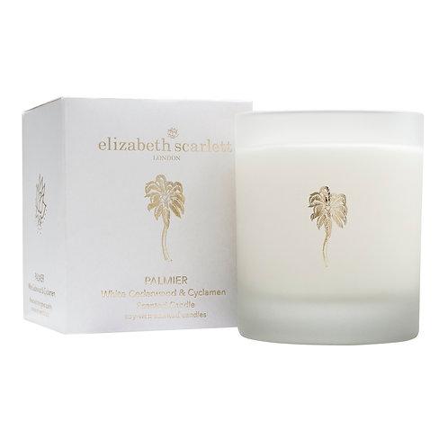 Elizabeth Scarlett Palmier White Cedarwood & Cylamen Candle