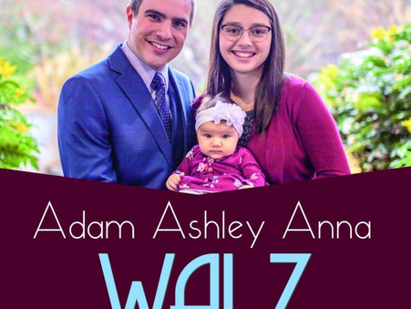 Blessing Service for Adam and Ashley Walz