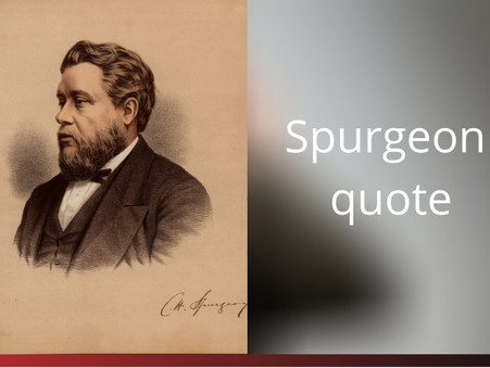 Spurgeon quote on preaching