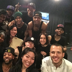 """""""Right There"""" Rehearsal Assisting Tony Testa for The Honeymoon Tour"""