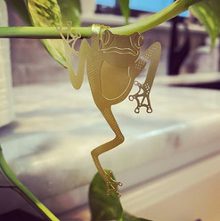 Brass Plant Animals
