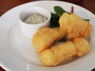 Battered Fish Goujons, Tartare Sauce