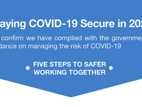Staying Covid Secure in 2020