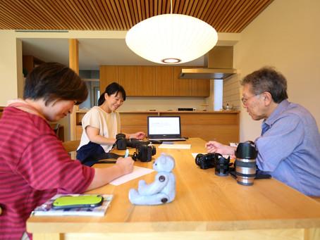 はじめてさんのカメラ講座inオーガニックスタジオ網川原モデルハウス20190610