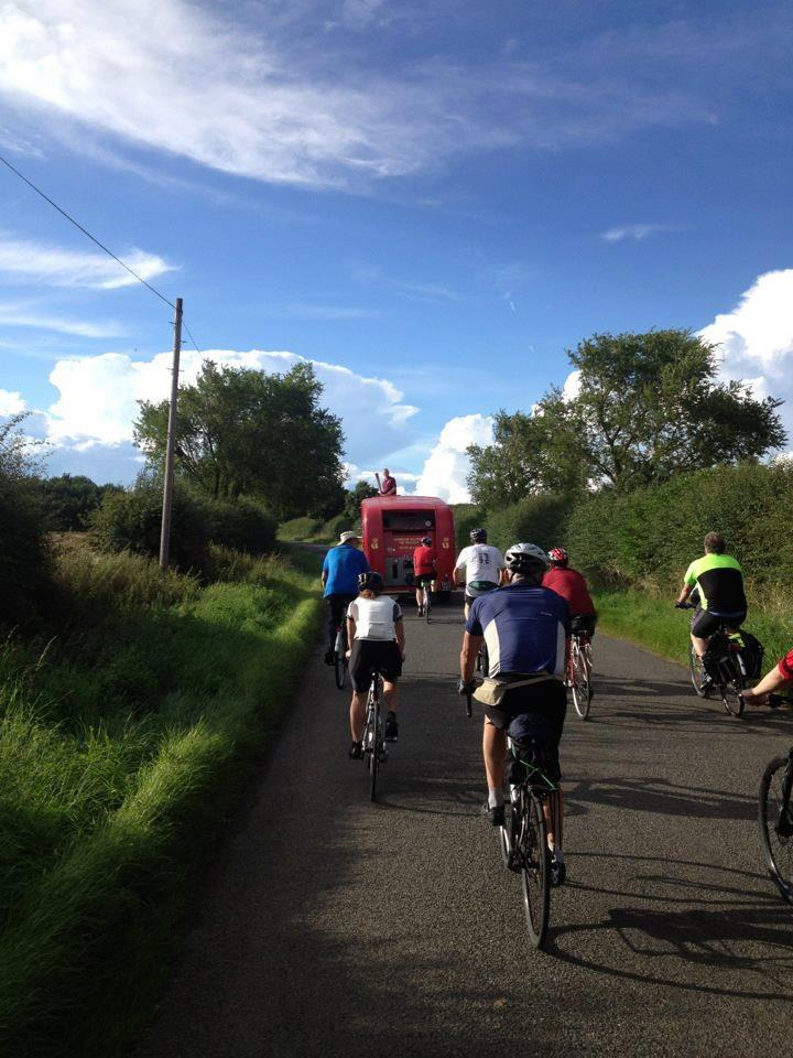Following the Geddington fire brigade