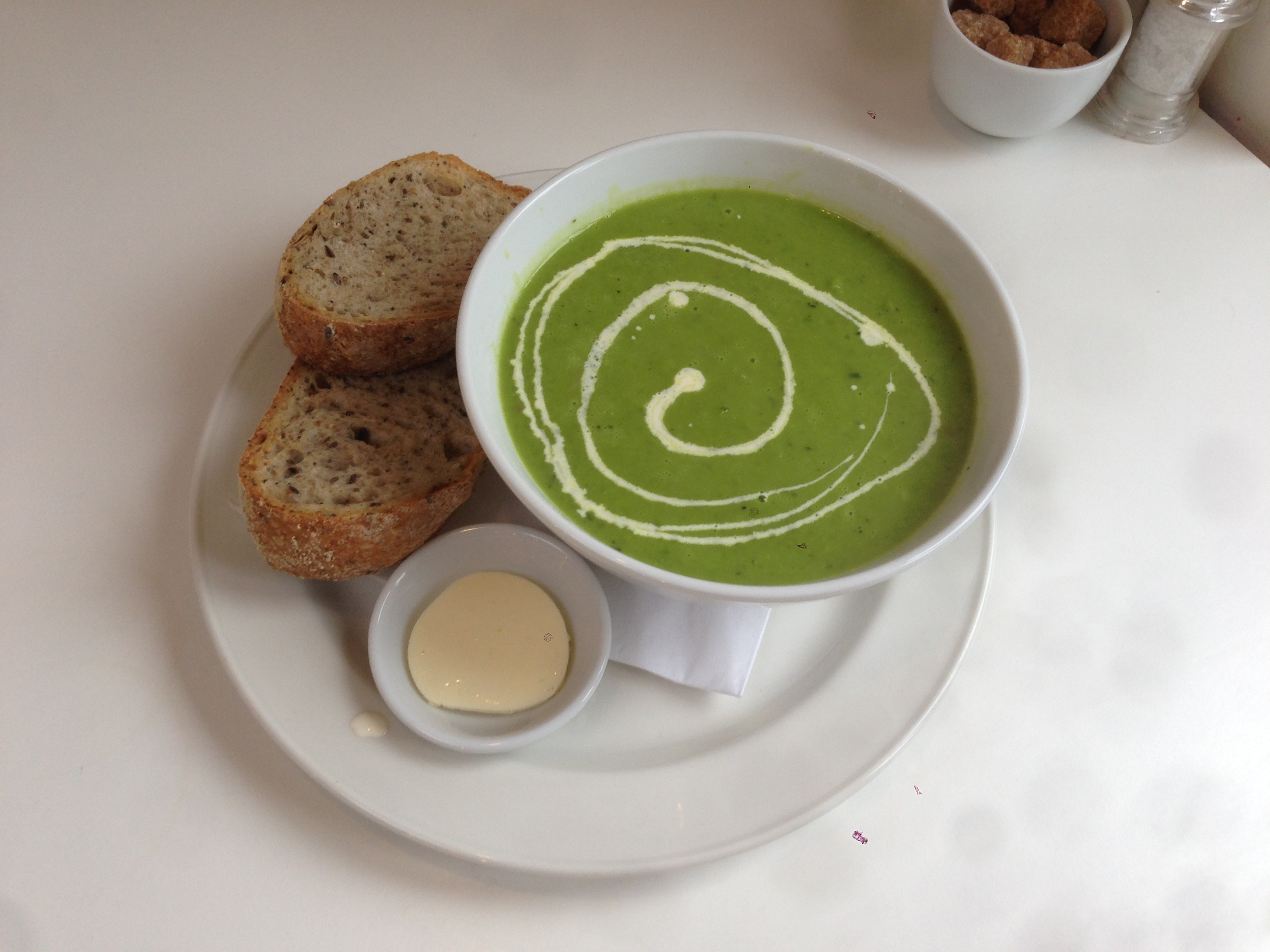 Soup o the day