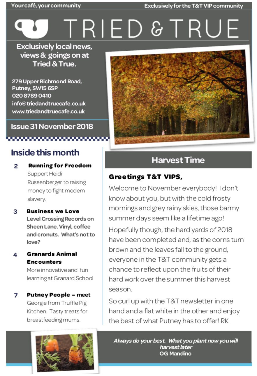 November - click to read on line.