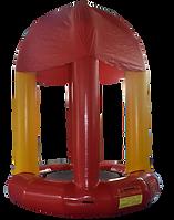 Inflatable Bunjee Trampoline - RedYellow