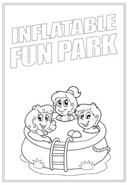 Inflatable Fun Park | Activity Page 28 | Colouring page