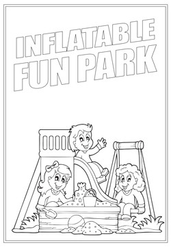 Inflatable Fun Park | Activity Page 39 | Colouring page