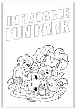 Inflatable Fun Park | Activity Page 30 | Colouring page
