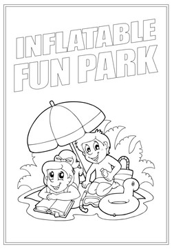 Inflatable Fun Park | Activity Page 29 | Colouring page