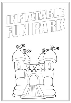 Inflatable Fun Park | Activity Page 40 | Colouring page