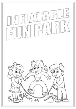 Inflatable Fun Park | Activity Page 36 | Colouring page