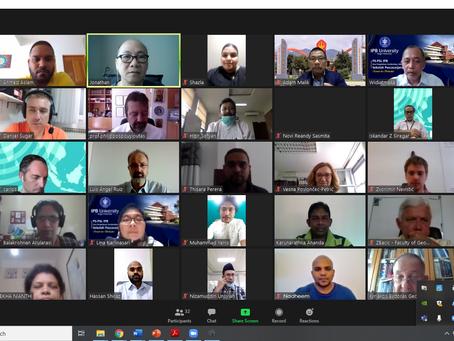 First virtual training workshop