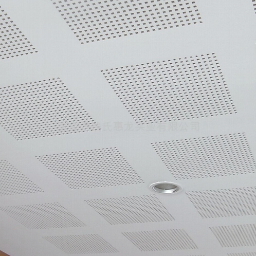Perforated Gypsum Ceiling Plaster Board