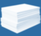 Wedge Ceramic Fibre Boards Insulation Sp
