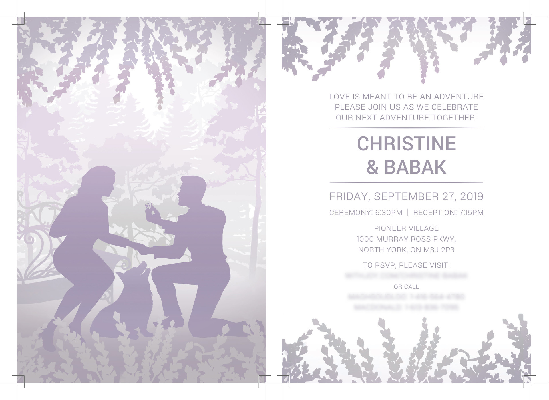 Final Printed Invites