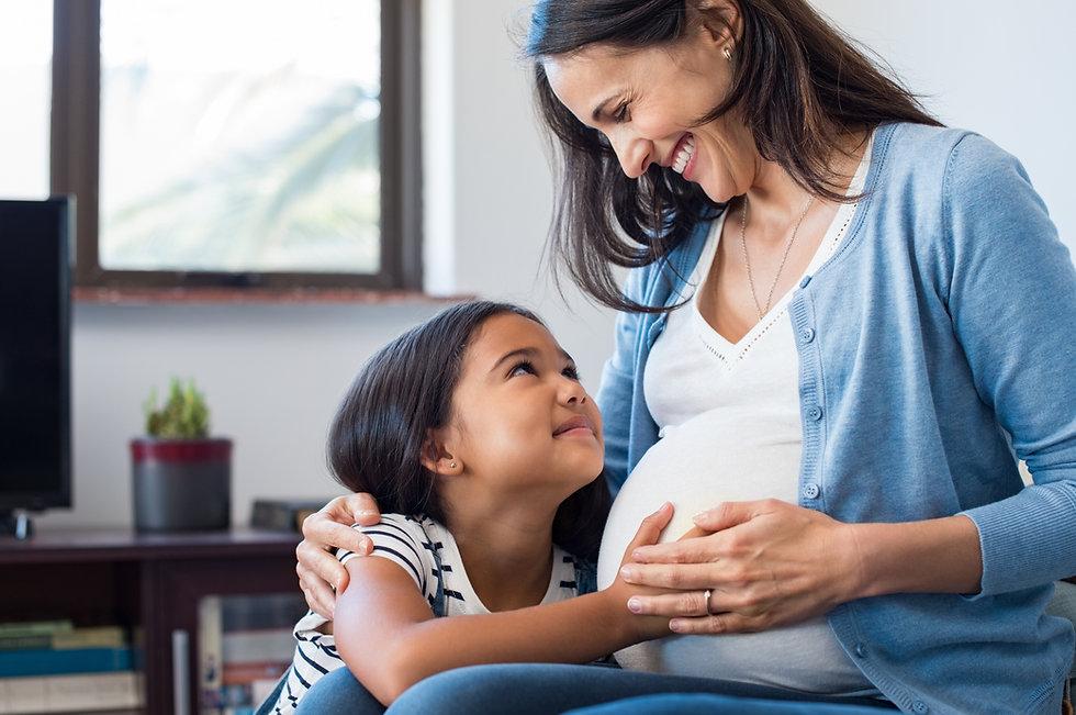 Sibling birth doula in Utah