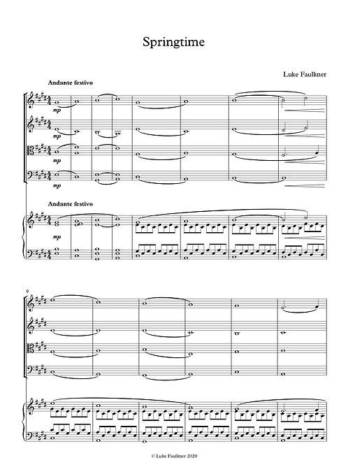 Springtime (piano quintet)