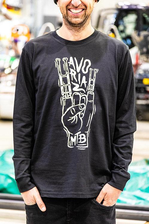 T-shirt manches longues Avoriaz MTB