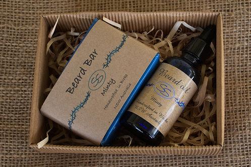 Beard Oil & Bar gift box