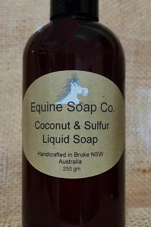 Coconut & Sulfur Liquid Soap