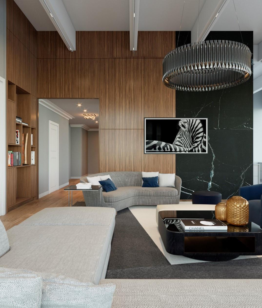 Living Room Wall Render 1