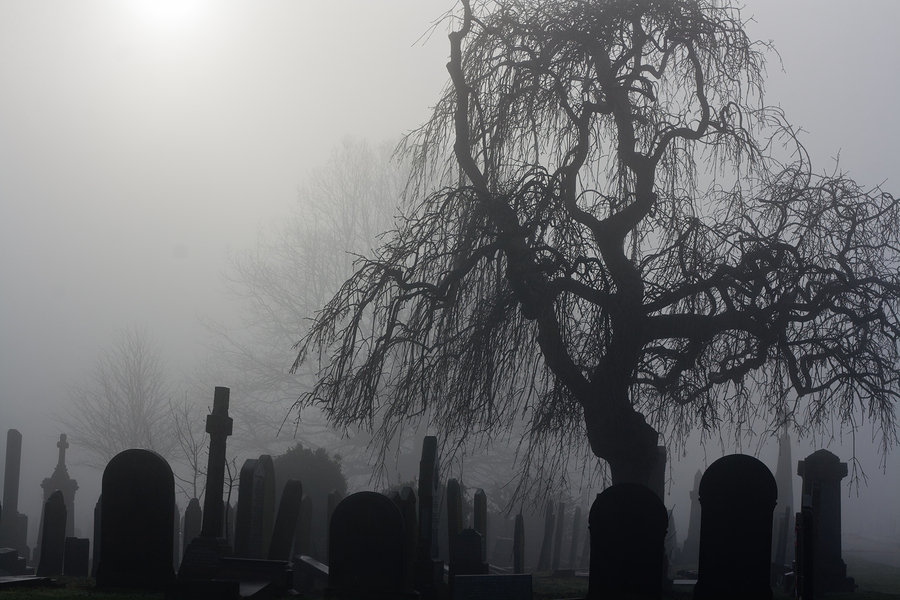 Halloween Cemetery Tour
