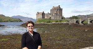 Crime fiction author Martha Reed in Scotland