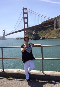 Crime fiction author Martha Reed in San Francisco